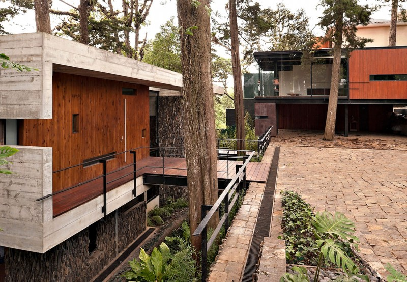 Attractive Tree House Amongst The Dense Forest Housebeauty