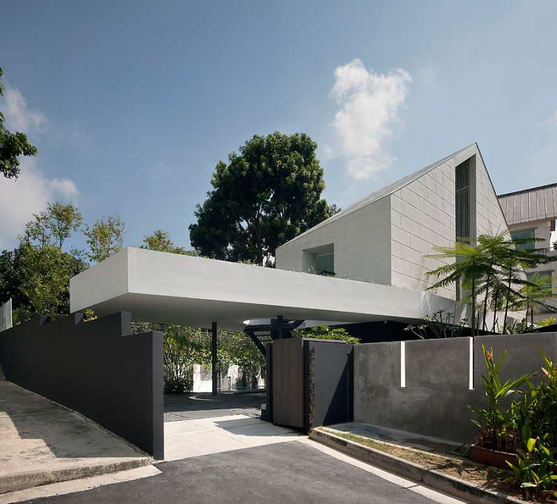 Cutting Edge Park House Design As Single Story In