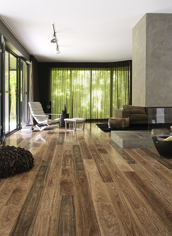 Dazzling Wooden Floor Design For Shiny Interior Housebeauty