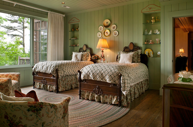 Elegant country bedroom ideas with minimalist interior for Minimalist country decorating