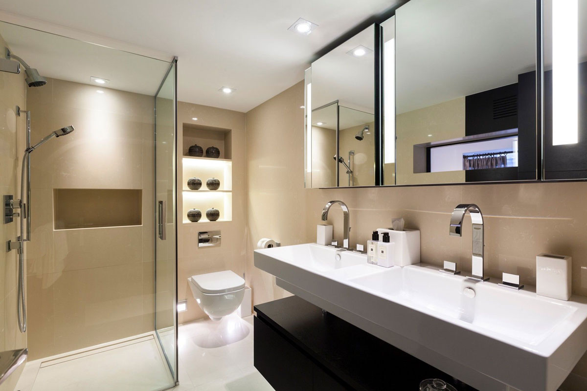 Best luxurious interior design for fulfilling high end living style housebeauty Interior design for apartment bathroom