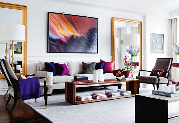 Shining Room Painting Ideas With Jewel Color Housebeauty