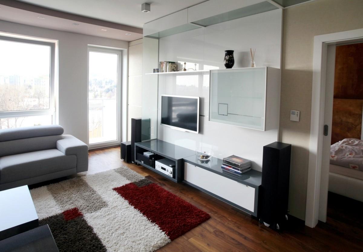 Chic modern apartment interior decoration in small area - Modern apartment interior design ...