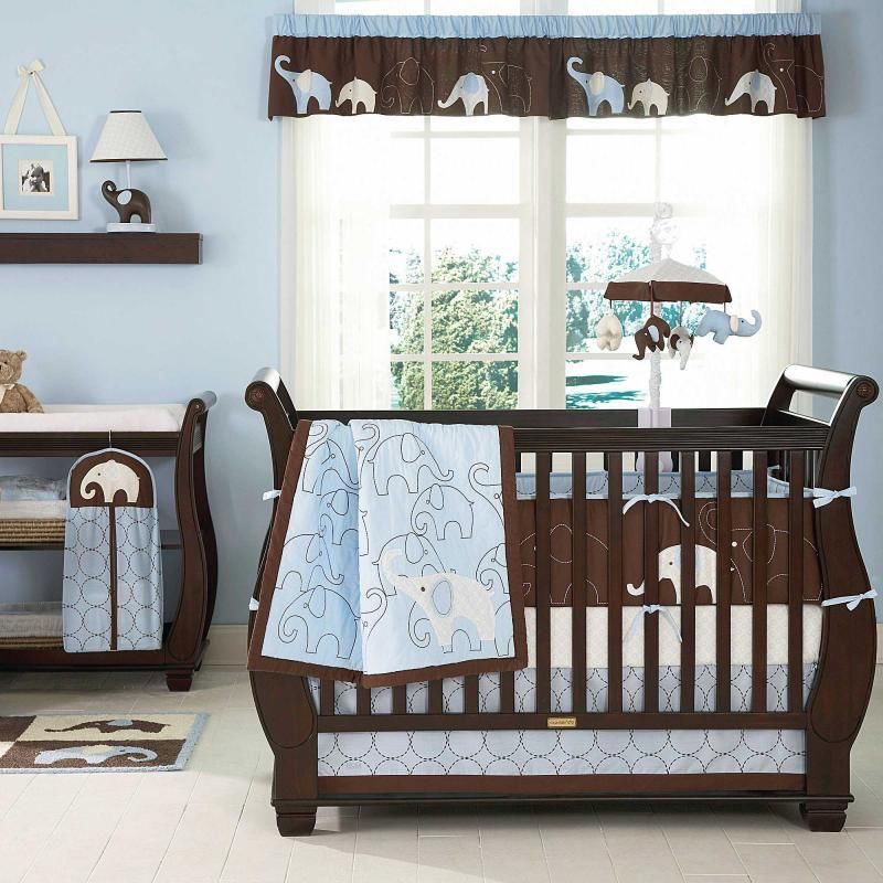 enchanting baby boy crib bedding applied in colorful baby room housebeauty. Black Bedroom Furniture Sets. Home Design Ideas