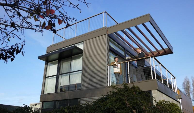 Alluring Modern Residence Designs Of The Krubiner