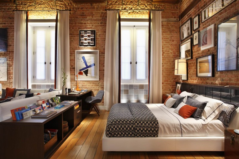 Rustic Small Apartment In Chic Interior Theme Housebeauty