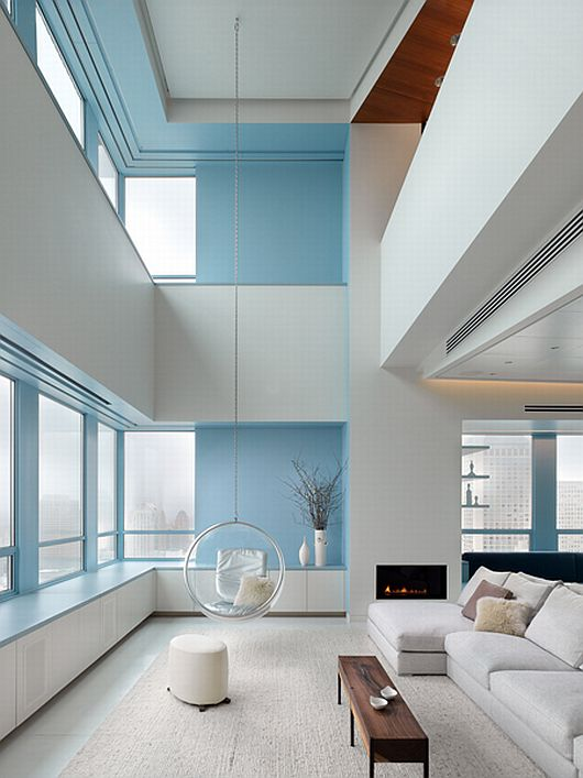 Fascinating Modern Penthouse In Spacious And Light