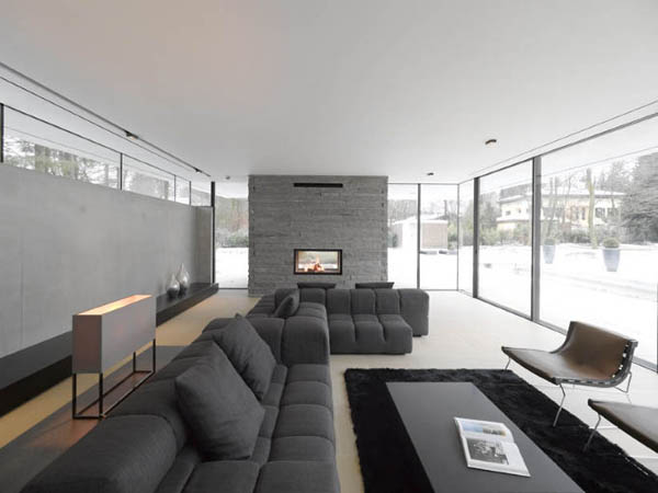 Beautiful Grey Painting For Your Modern House With Proper