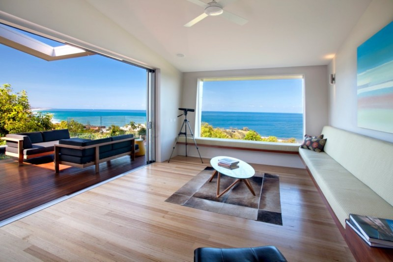 Amazing Modern Beach House Using Good Choice Of The Exterior And Interior ~  HouseBeauty