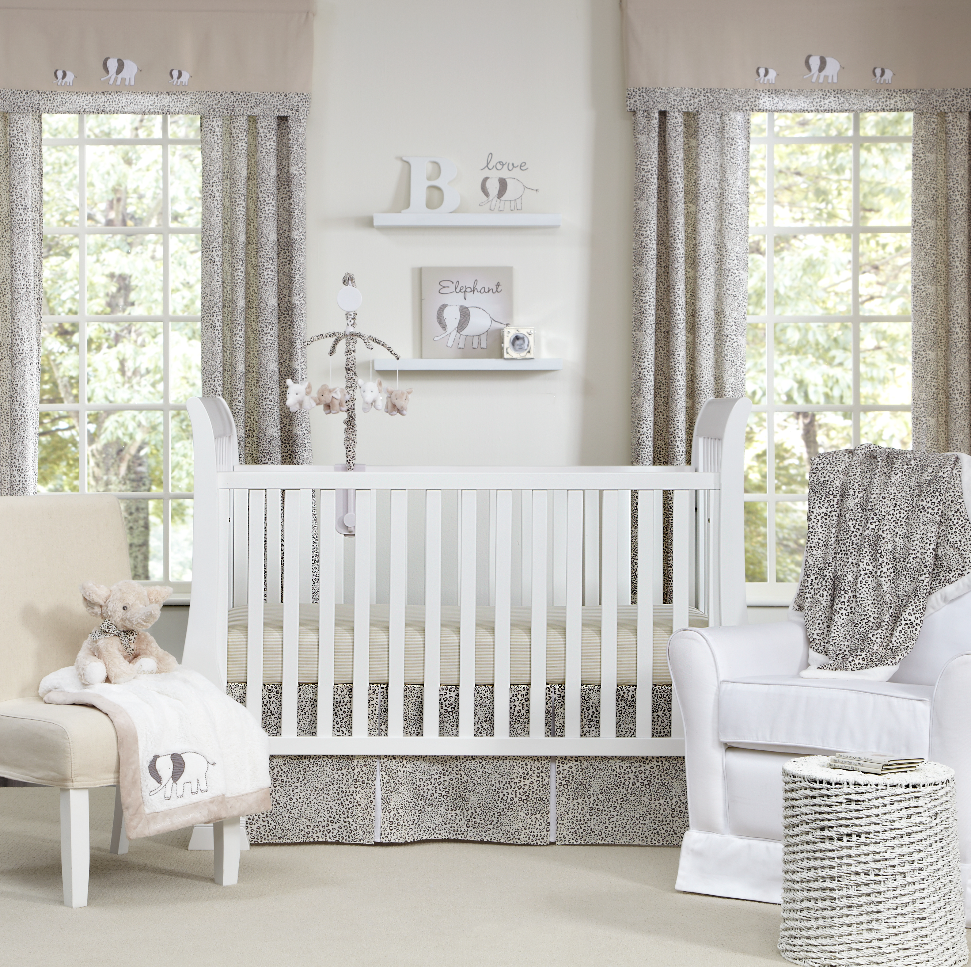 Inspirational Modern Crib Bedding With Lovely Color Combination HouseBeauty