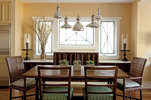 Fundamental Dining Room Concept Placing Table In The