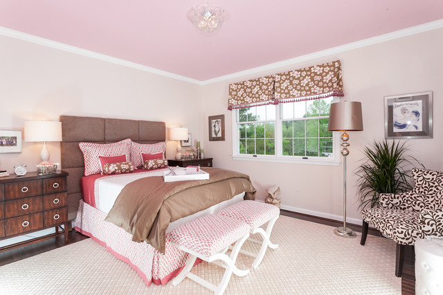 Pink And Taupe Bedroom Design Ideas