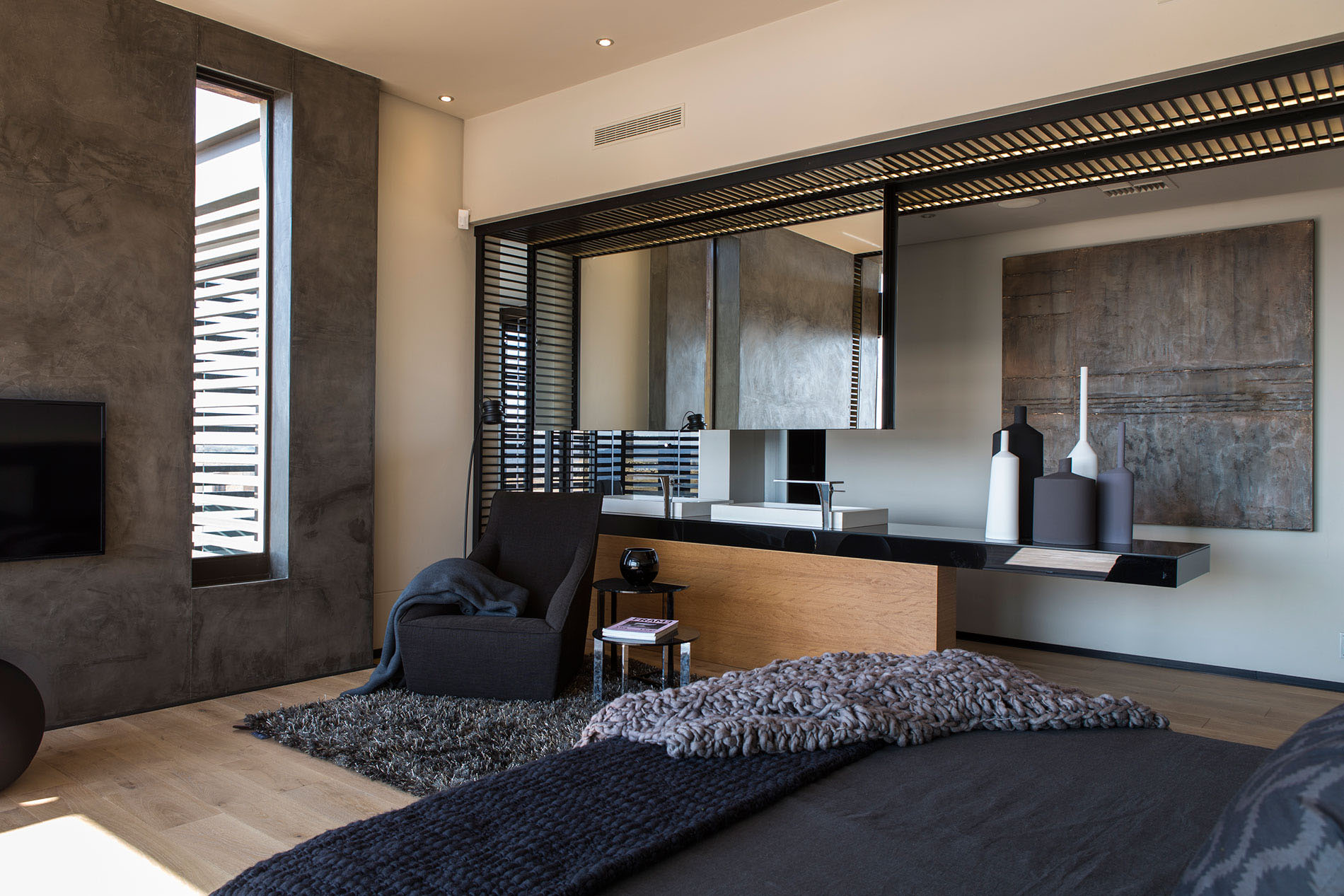 contemporary house furniture. For The Flooring, Wood Floor Is Best Choice Creating Warmth To Bedroom. Contemporary House Design Ideas Can Be Successfully Realized In Furniture