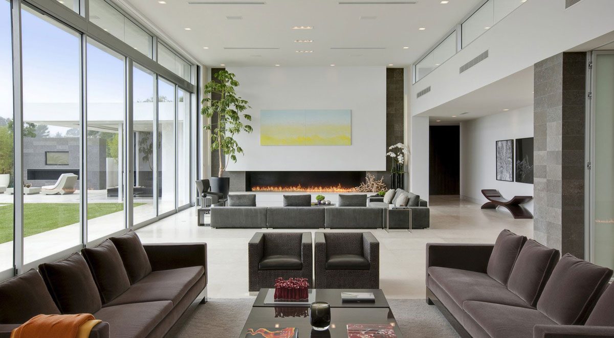 Luxurious Hill House Design Representing Home Luxury