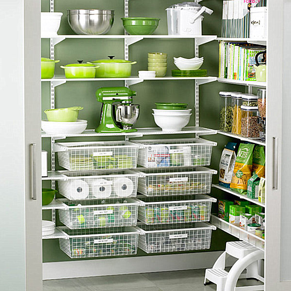 Stunning modern pantry design functional and minimalist for Minimalist pantry design