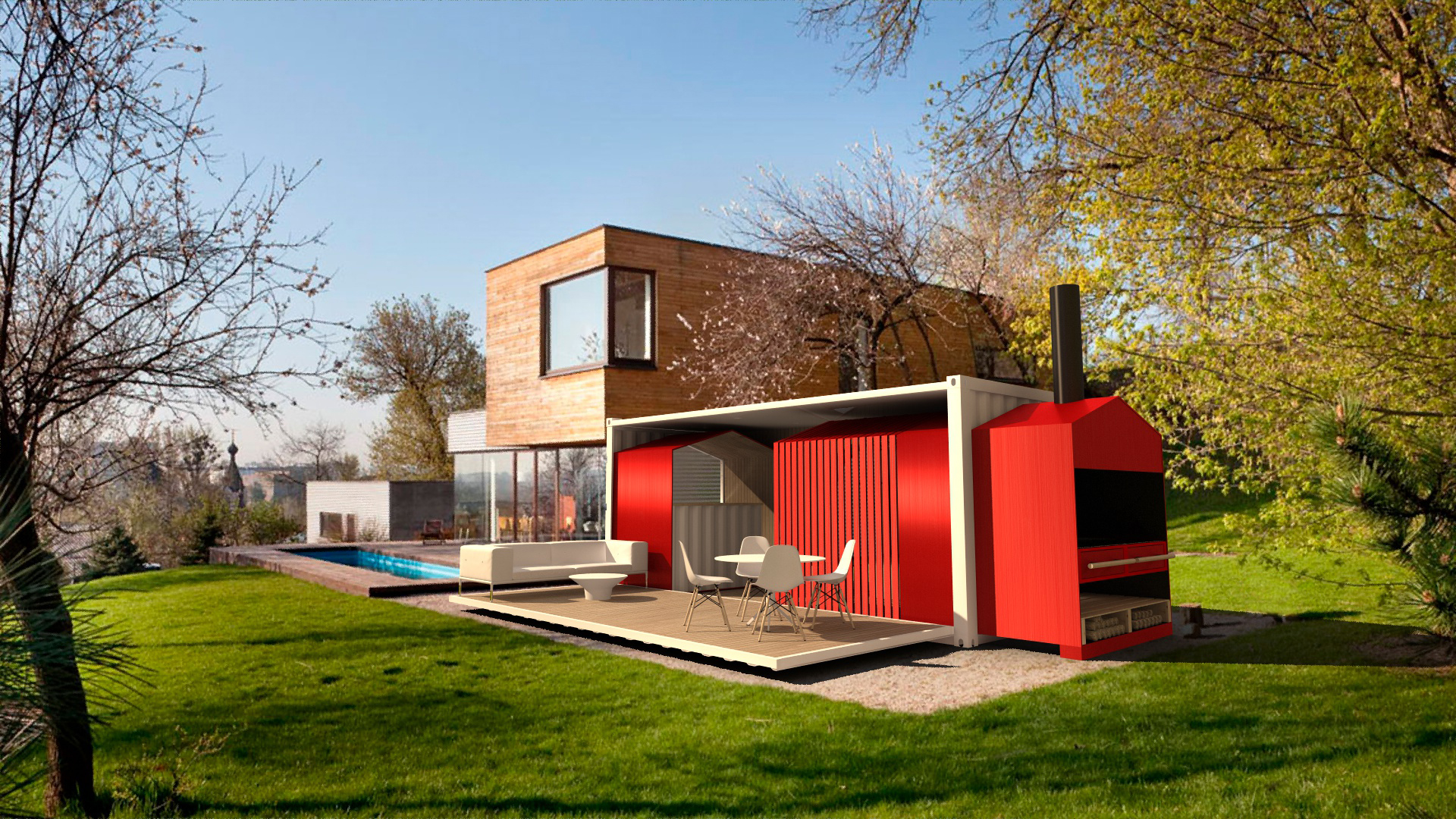 Marvelous Houses Made From Shipping Containers In