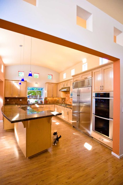 Awesome Kitchen Floor Plans With Various Kitchen Objects