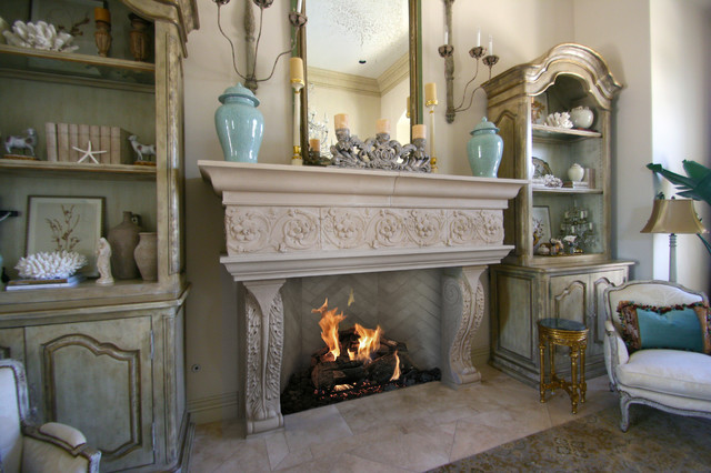 Astonishing Fireplace Mantel For Gorgeous Room Design