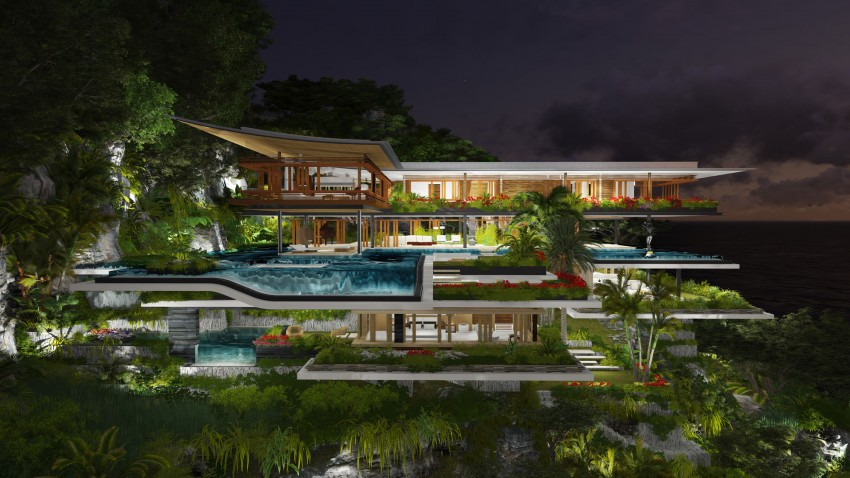 Wonderful Dream House Designs In The Secret Island India HouseBeauty