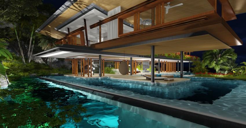 Great Wonderful Dream House Designs In The Secret Island India