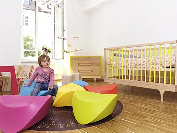 Cheerful Playroom Design Styles With Colorful Decoration