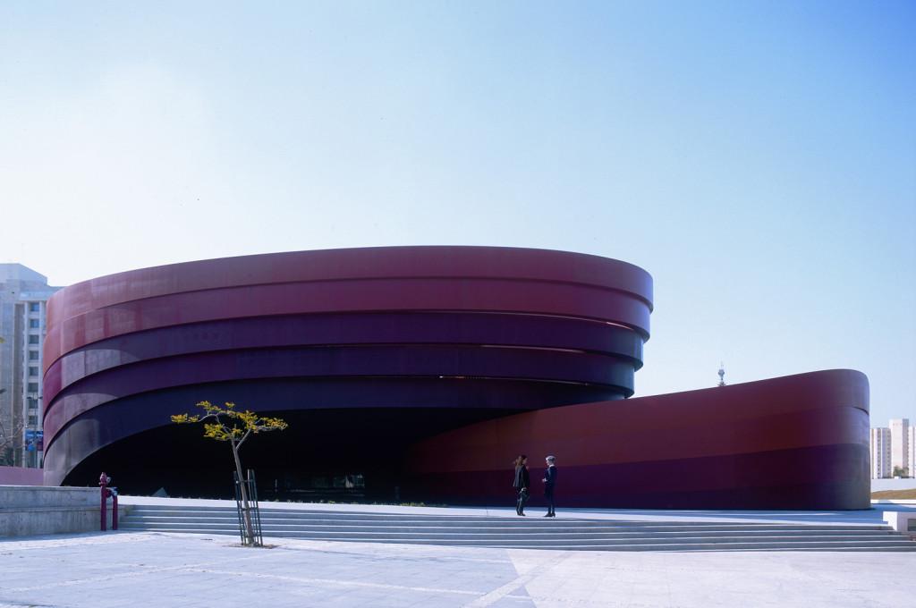 Striking Modern Museum Design with Curved External Envelope ...