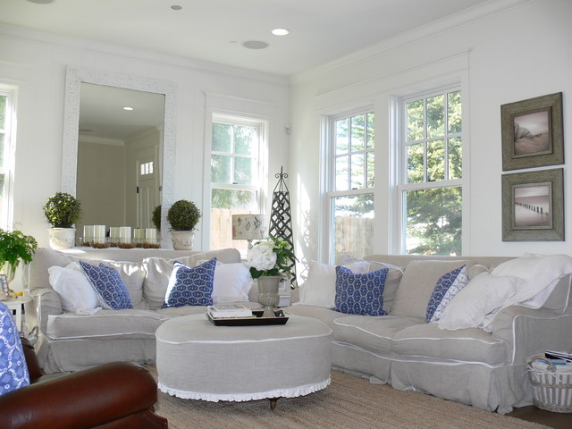 Chic Sectional Sofa Slipcovers For Elegant Sofa Look