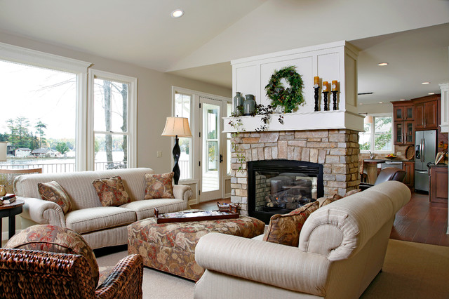 It Can Use The Modern Stone Fireplace Design Ideas Or The Wood As It Seen  On The Light Timber Furnace Cladding.