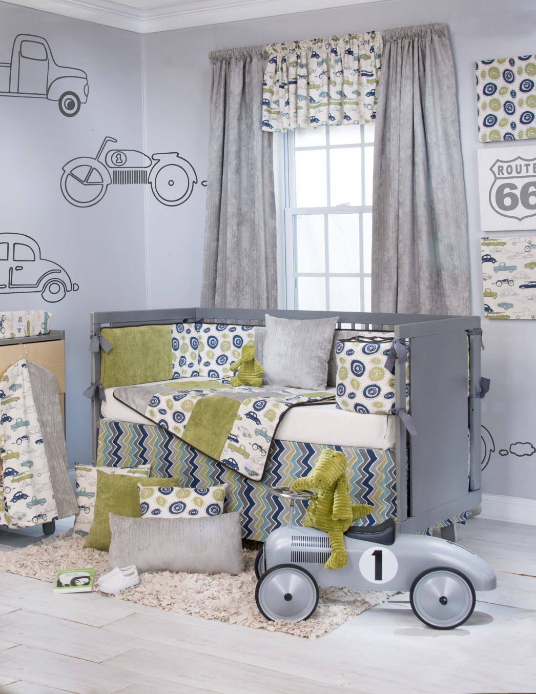 Crib Bedding Boy Blue