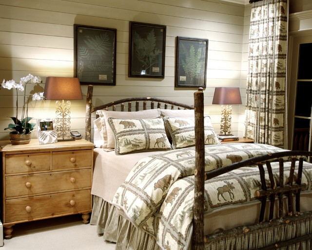 Elegant country bedroom ideas with minimalist interior for Rustic elegant bedroom