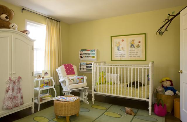 Lavish White Crib Designed In Contemporary Style For Main