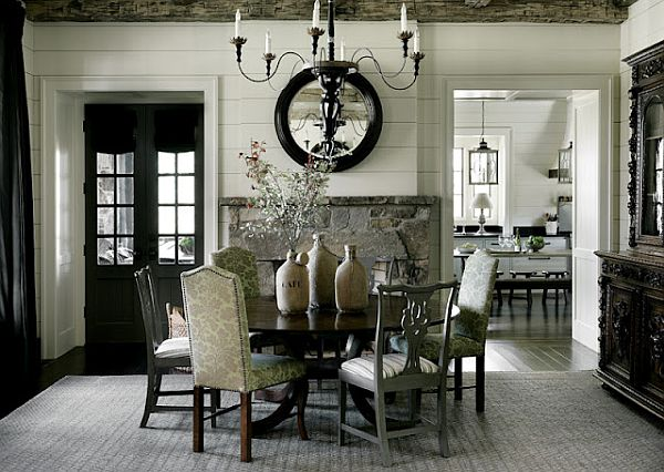 Dining Chairs Luxury Black White