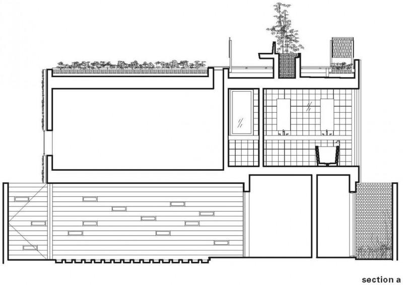 Special environmentally conscious home in venice housebeauty for Roof garden floor plan