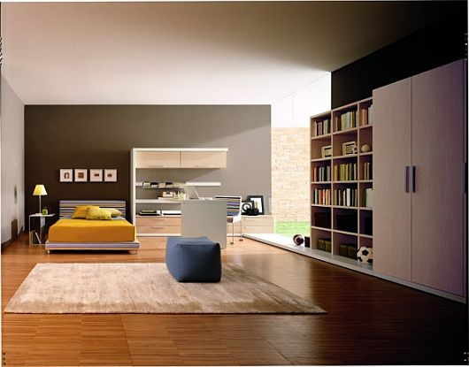 Completed By Soft Rug On Wooden Floor, It Adds The Room Looks More Warm.  Here Are Modern Teenage Bedroom Decorating Ideas Collections Of Beautiful  Bedroom, ...
