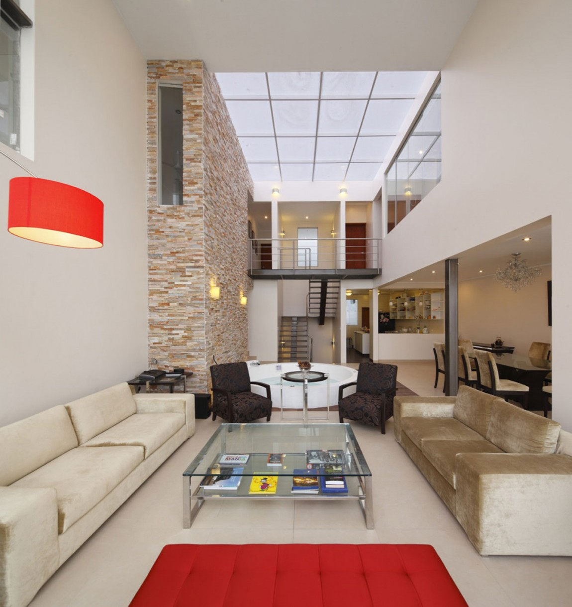 13 Superb Modern Living Room With Pool Ideas That Will: Exquisite Modern Beach House In Lima: The Cristal House