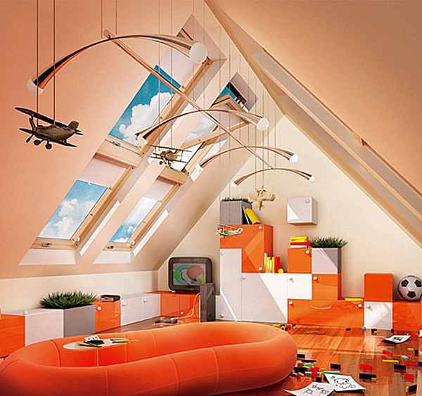 Colorful Playroom Design: Cheerful Playroom Design Styles With Colorful Decoration