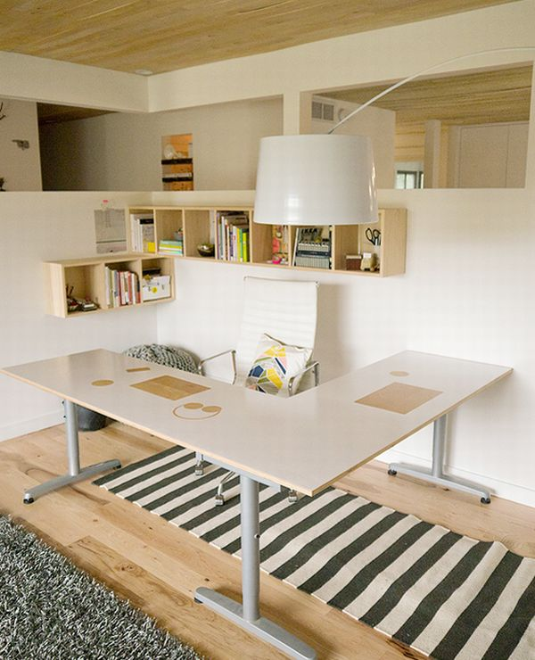 Elegant home office design modern minimalist setting for Beautiful office space design