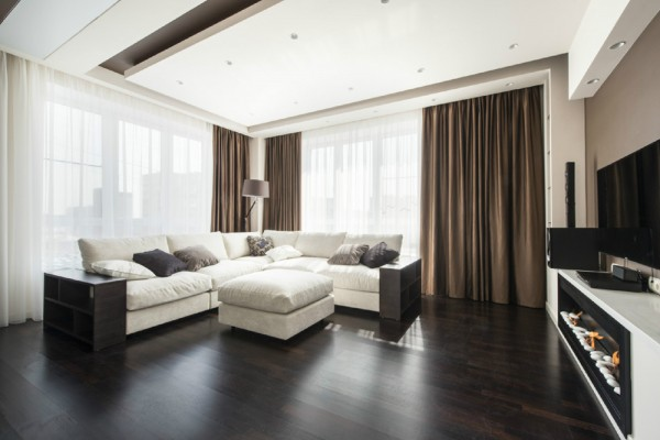 Fascinating Taupe Walls With White Furniture And