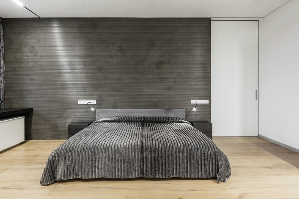 fascinating green bedroom walls black furniture | Fascinating Taupe Walls with White Furniture and ...