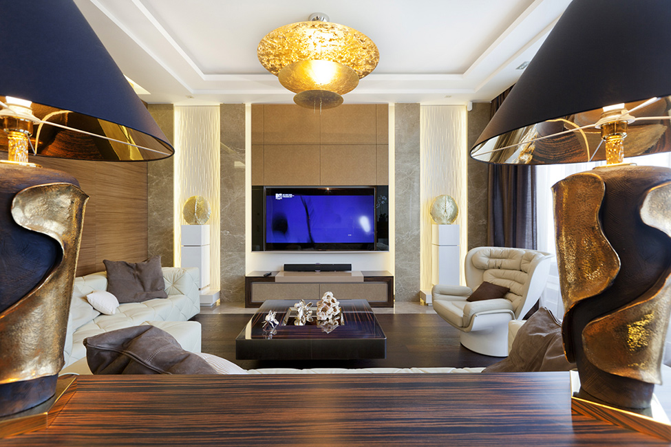 Extravagant Luxurious Interior Decoration Brings Warm and Cozy ...