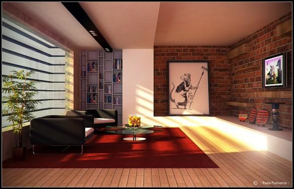 Outstanding artistic living room design for modern home - Living room decorating ideas 2014 ...