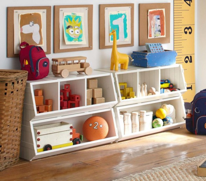 Colorful Playroom Design: Cheerful Kid Playroom With Various Themes And Colorful