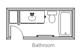 Neoteric Bath Room Plans for Modern Urban Residence Design ...