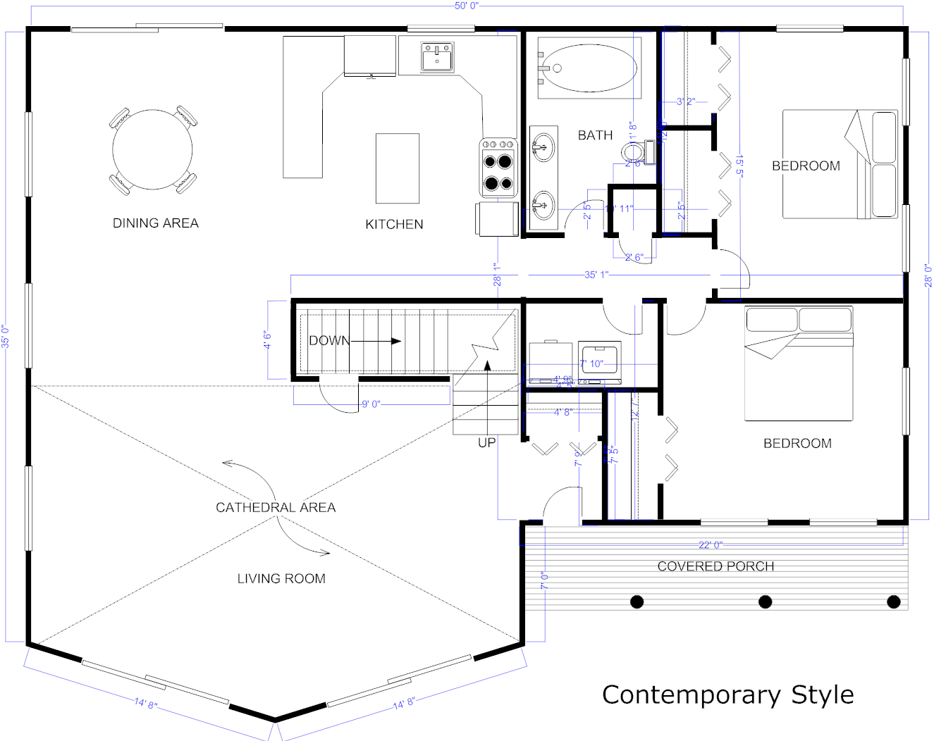 Digital smart draw floor plan with smartdraw software for Smart home plan
