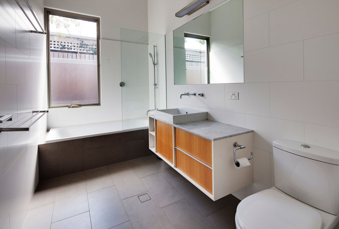 Old australian house transformed in modern building housebeauty Modern australian bathroom design