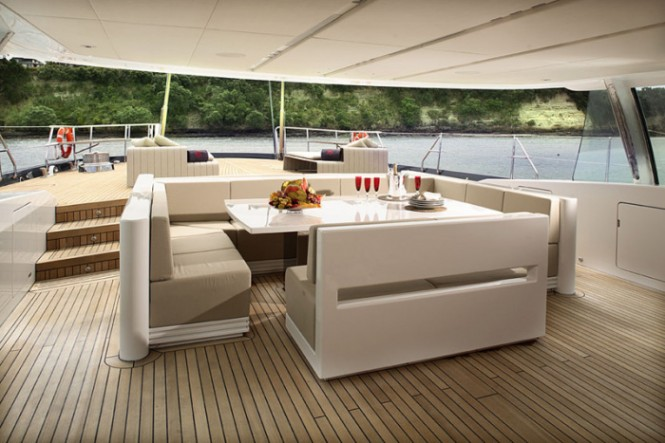 Do It Yourself Home Design: Fabulous Luxury Yacht Interior For The Best Sea Journey