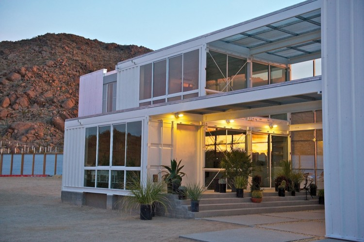 Majestic creative home from shipping container housebeauty for U shaped container home