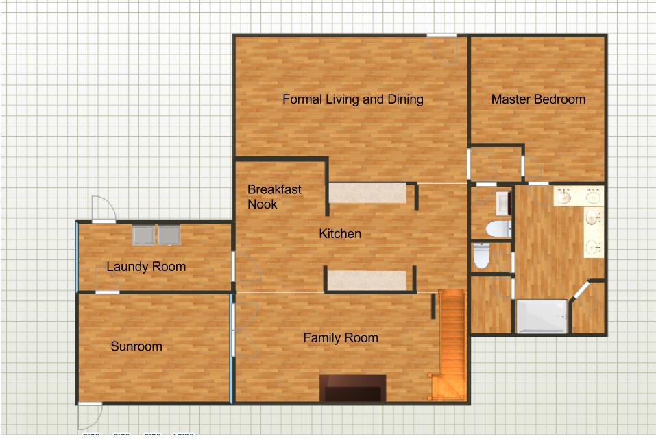 Easy drawing plans online with free program for home plan for Easy to use room planner