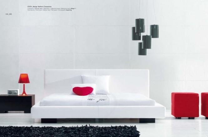 Emejing Decoration Chambre Rouge Et Blanc Contemporary - ansomone.us ...