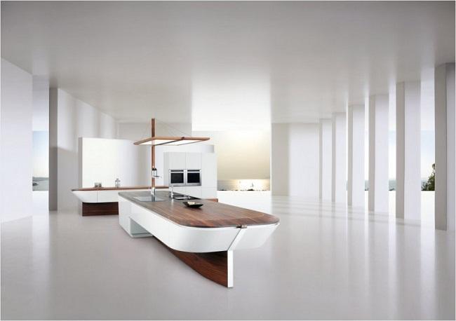 Boat Shaped Kitchen Design
